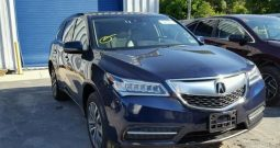 2016 ACURA MDX TECH for sale on pre-order US to Lagos @14m. call: 08033720954