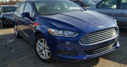2016 FORD FUSION SE On Pre Order US to Lagos @