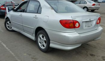 2004 TOYOTA COROLLA CE On Pre Order US to Lagos @1.550m Call:08033720954 full