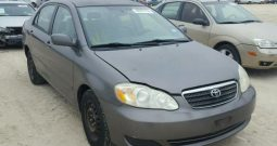 2007 TOYOTA COROLLA CE On Pre Order US to Lagos @1.7m Call:08033720954