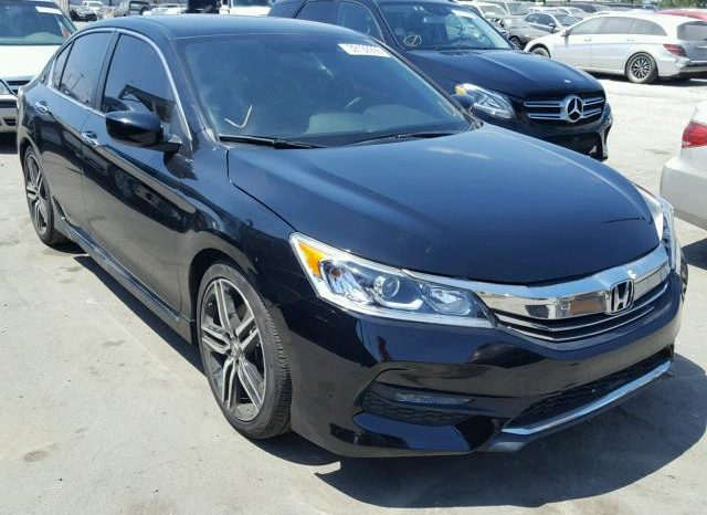 2017 honda accord sport special edition on pre order us to lagos just auto home. Black Bedroom Furniture Sets. Home Design Ideas