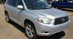 2008 TOYOTA HIGHLANDER SPORT On Pre Order US to Lagos @3.6m Call:08033720954