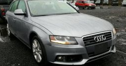 2009 AUDI A4 2.0T AVANT QUATTRO On Pre Order US to Lagos @