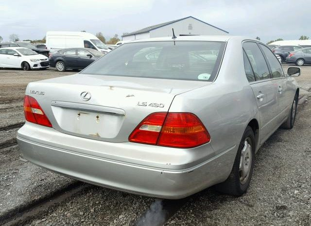 2002 LEXUS LS 430 For Sale On Pre Order US to Lagos @2m Call:08033720954 full