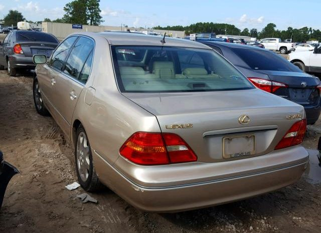 2003 LEXUS LS 430 For Sale On Pre Order US to Lagos @2.5m Call:08033720954 full