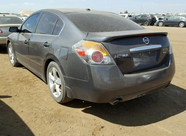 2008 NISSAN ALTIMA 3.5SE On Pre Order US to Lagos @2.2m Call:08033720954 full