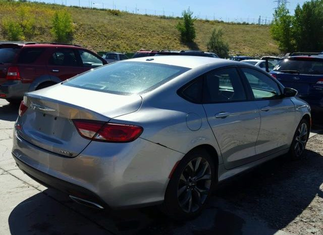 2015 CHRYSLER 200 S On Pre Order US to Lagos @ full