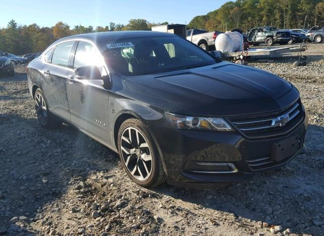 2017 CHEVROLET IMPALA LTZ  On Pre Order US to Lagos @ full