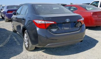 2014 TOYOTA COROLLA L For Sale On Pre-Order US TO LAGOS @3.5m Call:08033720954 full