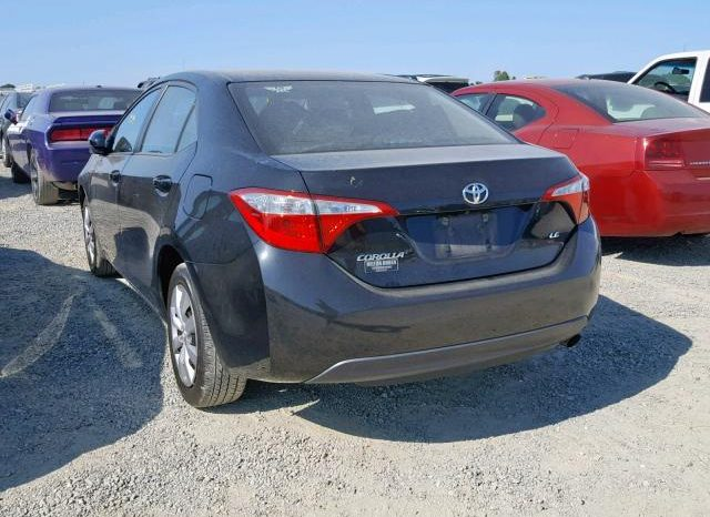 2014 TOYOTA COROLLA L For Sale On Pre-Order US TO LAGOS @4.6m Call:08033720954 full