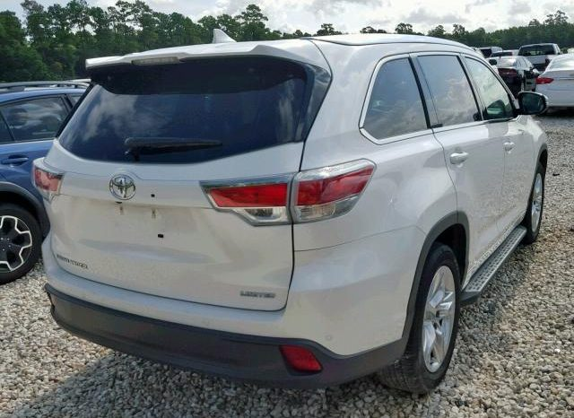 2014 TOYOTA HIGHLANDER For Sale On Pre-Order US TO LAGOS @7.5m Call:08033720954 full