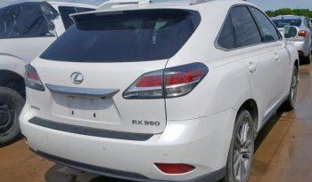 2015 LEXUS RX 350 For Sale On Pre-Order US TO LAGOS @6m Call:08033720954 full