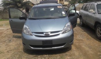 2008 Toyota Sienna Le For Sale on Ground. @2.5m Call: 08033720954 full