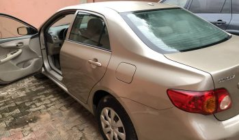 2009 Toyota Corolla For Sale On Ground @2.7m Call:08033720954 full