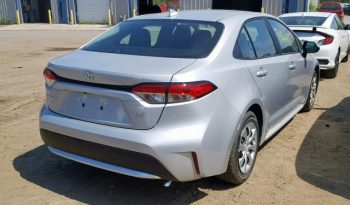 2020 TOYOTA COROLLA LE For Sale On Pre-Order US TO LAGOS Call:08033720954 full
