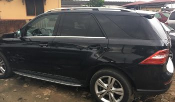2012 Mercedes Benz Ml350 4MATIC For Sale On Ground @8m Call:08033720954 full