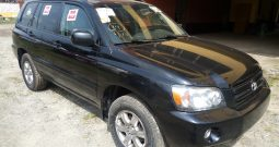 2005 Toyota Highlander For Sale On Ground @2.7m Call:08033720954